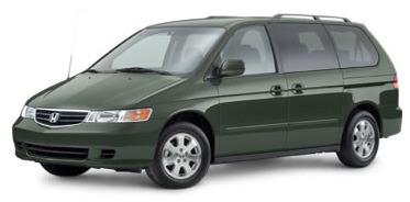 Honda Odyssey in Sage Brush Pearl